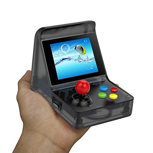 Anbernic Consola de Juegos portátil, Mini Consola de Juegos Retro Arcade para Jugadores de Juegos de 3 Pulgadas Juegos 512 Consola de Juegos portátil de 32 bits, Regalo de cumpleaños para niños (Red)