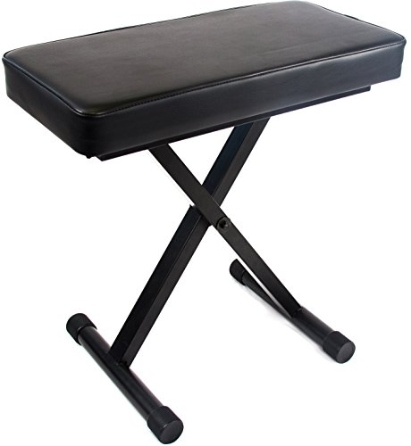 Jean Paul USA DKB-1 Reprize Extra Wide Adjustable Keyboard Piano Benches