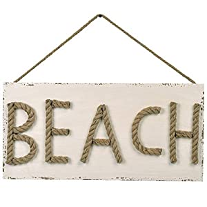 41tHST7w76L._SS300_ Wooden Beach Signs & Coastal Wood Signs