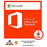 MS Office 2019 Standard 32 bit e 64 bit - Chiave di Licenza Originale per Posta e E-Mail +...