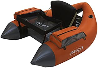 Outcast Fish Cat 4 Deluxe Float Tube - Burnt Orange with Free $20 Gift Card