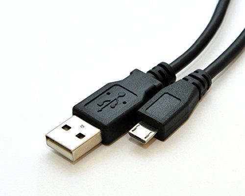Rhombutech® Premium USB 2.0 - A zu Micro B Kabel, Lade- und Datenkabel (2 Meter)