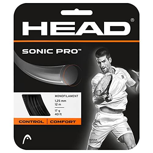 Head Sonic Pro Cordajes de Raquetas de Tenis, Adultos...