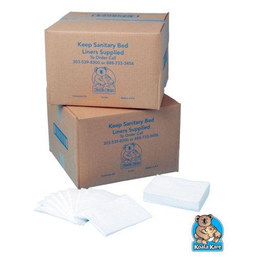 Koala Kare KB150-99 Baby Station Bed Sanitary Liners - 500 / CS