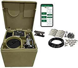 Cube Pro Bluetooth Pynamite Mosquito Misting System, Small 26 inch Cube Still 55 gallons with 10 Nozzle Kit