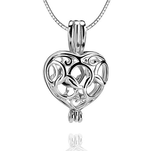10 best pearl necklace cage heart for 2021