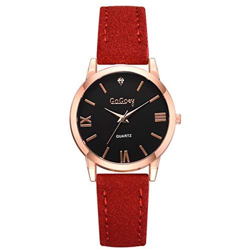 REALDE Reloj De Pulsera Minimalista Numeral Romano Diamante Reloj Análogo De Mujer Moda Casual para Elegante Relojes De Cuarzo Pulsera De Negocios