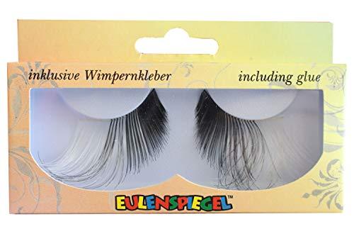 Eulenspiegel 000823 - künstliche Wimpern - Black & White