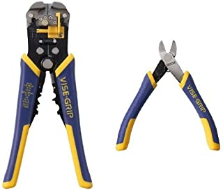 IRWIN Tools VISE-GRIP Self-Adjusting Wire Stripper and Diagonal Cutting Plier Bundle
