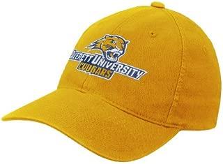 CollegeFanGear Averett Gold Flexfit Mid Profile Hat 'Averett University Cougars'
