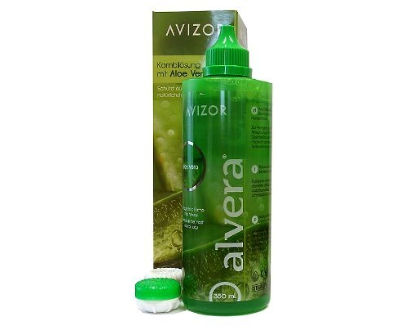 名声カタログフェミニンAvizor Alvera - Multi-Purpose Contact Lens Solution - 350ml by Avizor [並行輸入品]