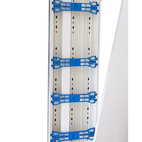 GGK EAN8004 Lot de 2 Moulures adh/ésives 10 x 20 mm x 2 m