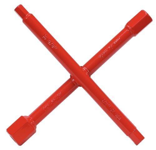 KS Tools 116.6000 Sanitär-Kreuzschlüssel, 7 Funktionen