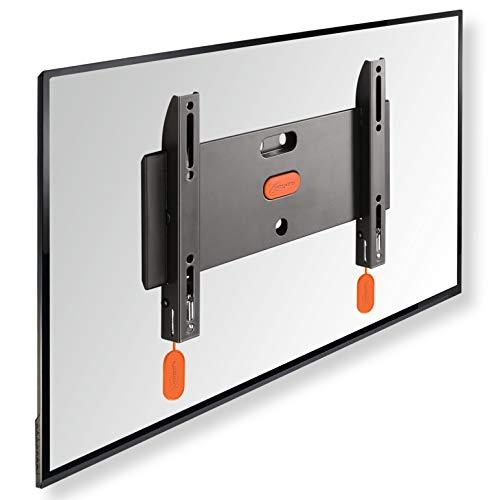 VOGEL'S BASE 05 S Flache TV Wandhalterung für 19-43 Zoll (48-109 cm) Fernseher, Flach, Max. 20 kg, Halterung auch für LED, QLED und OLED Fernseher, Halter TÜV getestet, VESA 100x100 bis 200x200
