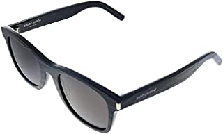 Saint Laurent - Gafas de Sol SL 51 BLACK STRIPES/GREY 50/22/140 hombre