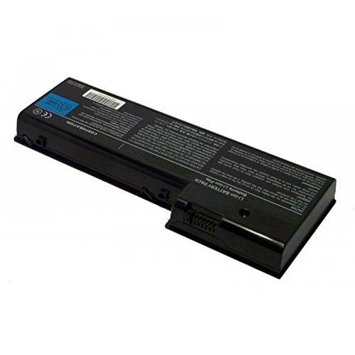 MTXtec Batterie Haute capacité, LiIon, 10.8V, 6600mAh, Noir pour Toshiba Satego P100-490