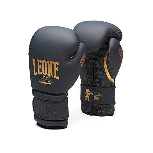 12oz LEONE 1947 Unisexs Leone1947 Boxing Gloves Flash Equipment Blue