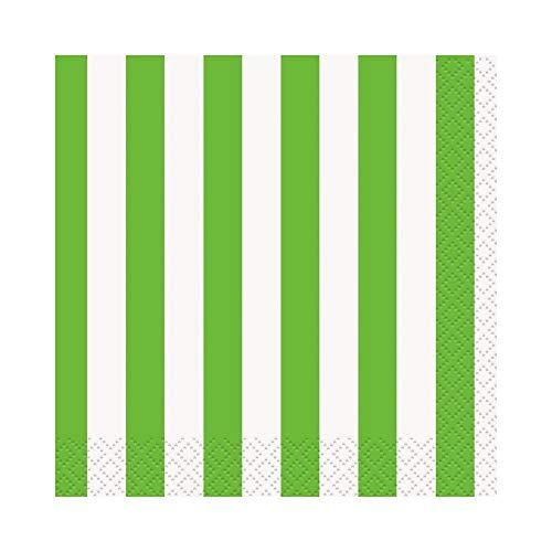 takestop® papieren doeken, kleurrijk, gestreept USA en Getta Compleanni Feeste Party Doop