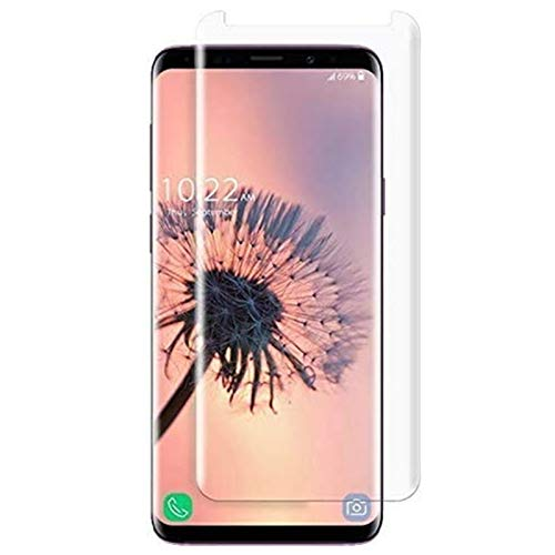 Tisen Compatible [2 - Pack] Galaxy S8 Plus Tempered Glass Screen Protector,[9H Hardness][Anti-Scratch] [Anti-Fingerprint][3D Curved] Screen Protector Compatible Samsung Galaxy S8 Plus