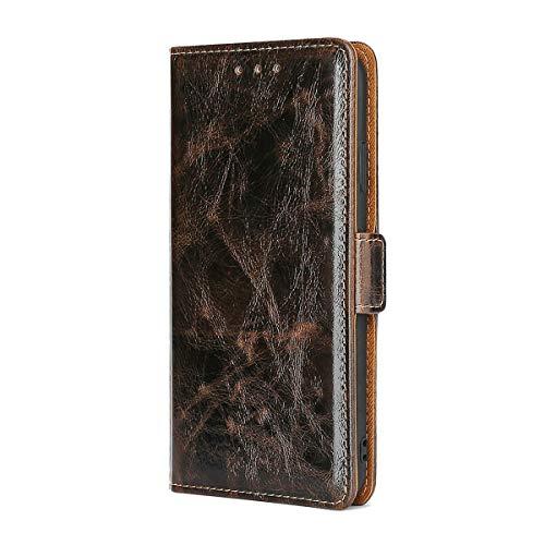 [GW2] Funda para Sony Xperia XZ Premium Funda Flip Cuero de la PU+ Cover Case de Silicona Protección Fija