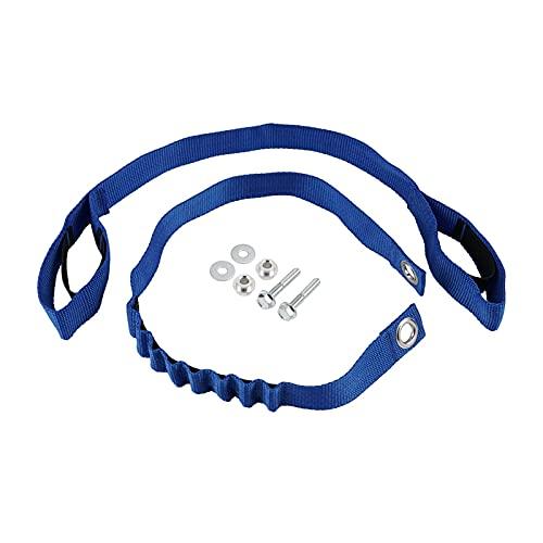 XINYAN qun-qun Frontal Trasero sosteniendo Fender Strap Strap Fit para Exc excuc XC xcf xcw tpi Seis días 125 200 250 300 350 450 2020-2021 SX SXF 2019-2021 (Color : Blue)