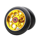 2Pcs 110mm Pro Scooter Wheels with Abec 9 Bearings Fit for MGP/Razor/Lucky...