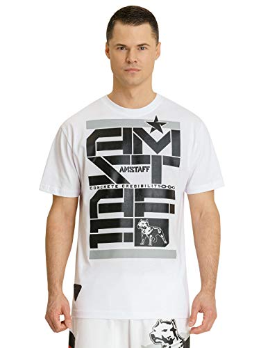 Amstaff Derky T-Shirt Weiß L