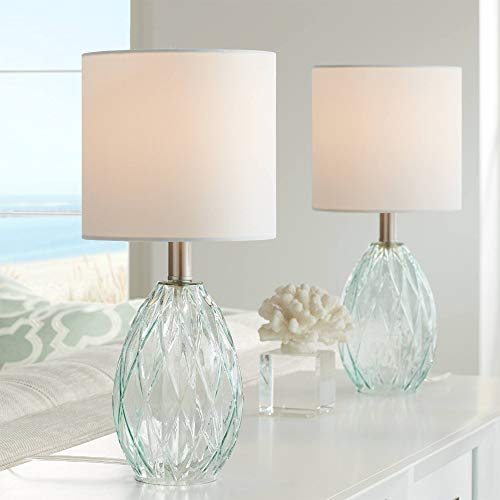 Rita Modern Accent Table Lamps 17 1/2