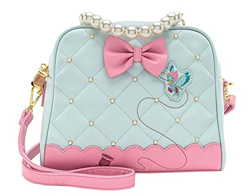 Loungefly x Disney Cinderella 70th Anniversary Pearl Handle Crossbody Bag