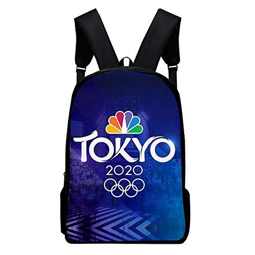Ruosaren Tokyo 2020 Olympische Rugzakken Fashion School Rugzakken 2020 Olympische Rugzakken voor mannen en vrouwen