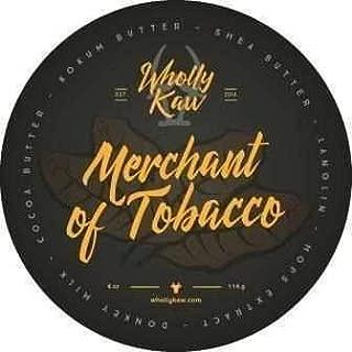 Wholly Kaw Donkey Milk Shaving Soap, Merchant of Tobacco