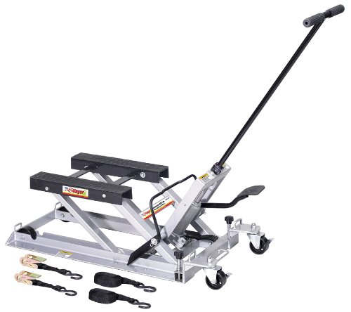 Our #2 Pick is the OTC 1545 Motorcycle Lift