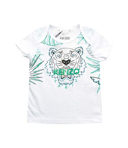Kenzo Kids T-Shirt Tiger Bambino Baby Boy Mod. KN10523