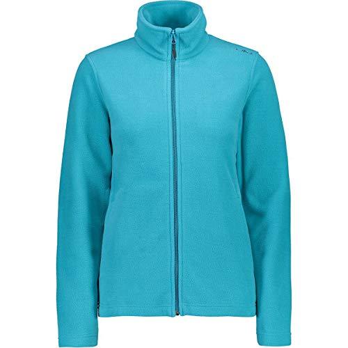 CMP fleecejacke jacke damen jacket tã¼rkis atmungsaktiv wã¤rmend abriebfest (38)