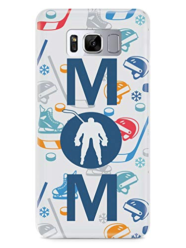 Inspired Cases - 3D Textured Galaxy S9 Case - Rubber Bumper Cover - Protective Phone Case for Samsung Galaxy S9 - Hockey Mom Pattern