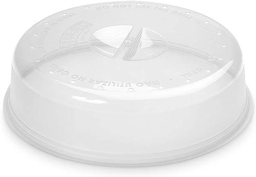 Casa Viva Metaltex 732.845Microwavable Cloche pour Micro-Ondes Couvercle en Plastique Transparent