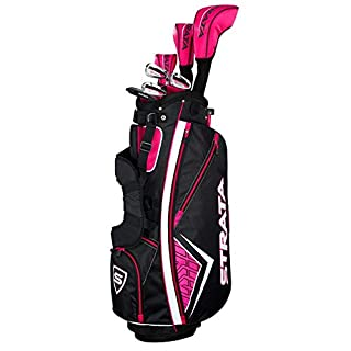 Callaway Golf 2019 Women's Strata Complete 11 Piece Package Set (Right Hand, Graphite) (B07H2CXV1Y) | Amazon price tracker / tracking, Amazon price history charts, Amazon price watches, Amazon price drop alerts