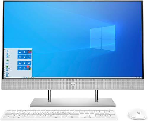 HP 27-DP0013ns - 27' - 1920x1080 - Ryzen 3-8GB - 512GB SSD - Wi-Fi 5 - Silver - W10 Home