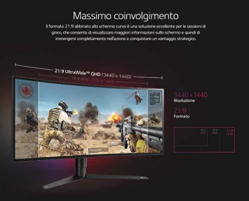 LG 34GK950G UltraGear Monitor Gaming 34