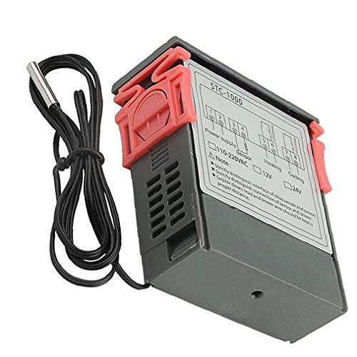 Temperatura Controlador de Pantalla Digital STC-1000 microordenador Digital 12V Controlador de Temperatura
