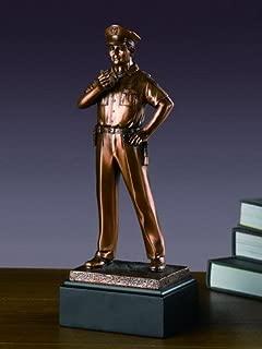 bronze police statues