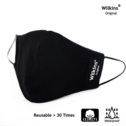 Wilkins 10 Packs Dust Masks with Filter Insert Pocket in Half Face Mask for Men and Women Reusable Face Mask and Washable Face Mask for Motorcycle Mountain Bike Cycling.