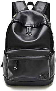 Simple style Multifunctional casual Leather shoulder bag student bag For Men