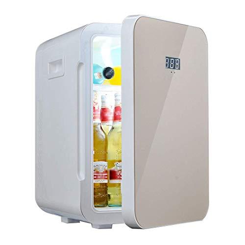 FACAZ 22L Minirefrigerador portátil, Enfriador termoeléctrico silencioso 0~65 ° C, Adecuado para Viajes, hogar, Oficina, Caravana, camión Refrigerador de Entrada Dual 12V / 240V