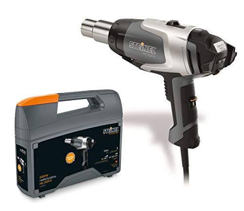 Steinel 351601 HG 2520 E - Soplador de aire caliente (2300 W, 220 V), color negro y gris