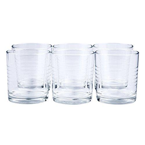 24 x Trinkglas/Saftglas/Wasserglas/Limoglas/Universalglas | Inhalt 240 ml