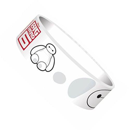 Big Hero 6 Baymax Bracelet en caoutchouc Blanc