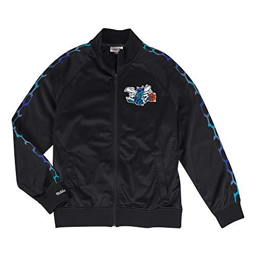 Mitchell & Ness Charlotte Hornets Hardwood Classics NBA Track Jacket Nero, M