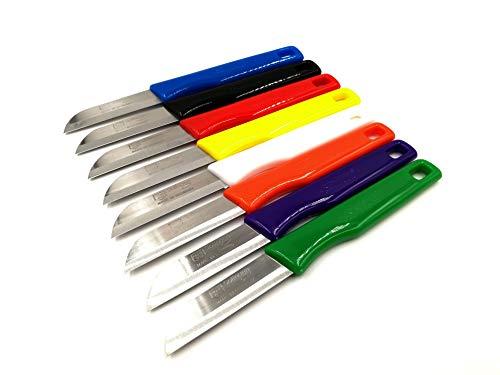 Solingen 8 Küchenmesser im Set Gemüsemesser Obstmesser Bandstahl 16cm / 6cm superscharf rostfrei