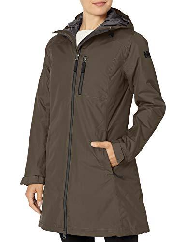 Helly Hansen Damen Damen Jacke Long Belfast Winter Jacke, Beluga, XL, 62395
